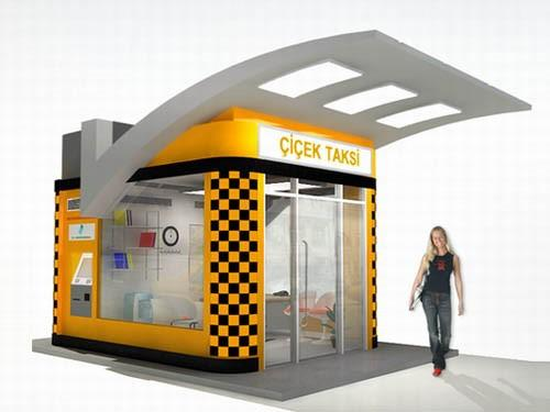 Prefabrik Taksi